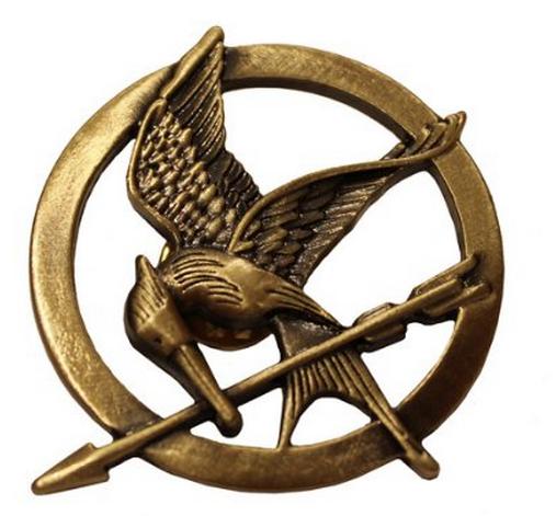 99 Hunger Games Mockingjay Pin + FREE Shipping! Mockingjay.