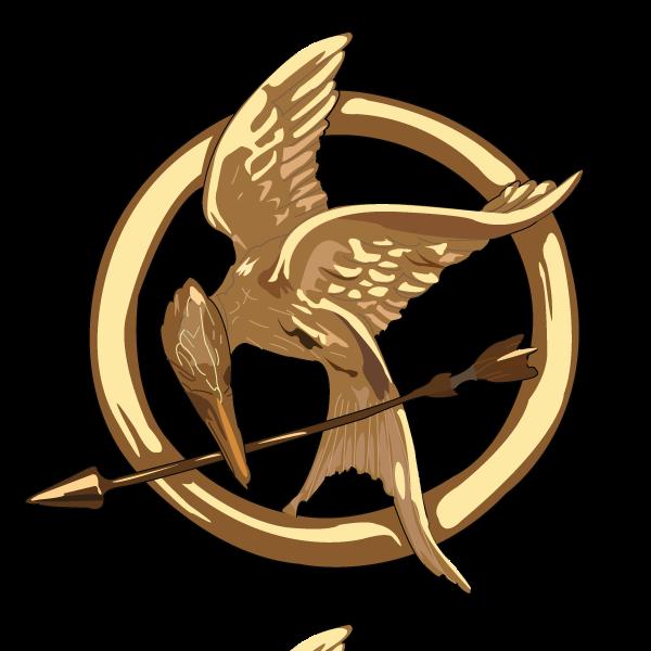 Mockingjay pin png 4 » PNG Image.