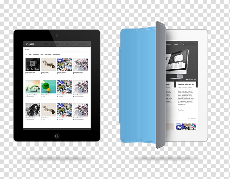 IPad 3 iPad Air 2 iPad Pro Mockup, Tablet PC PSD material.