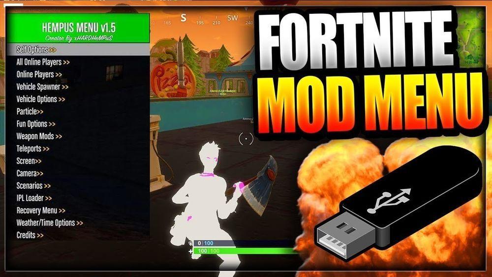 Fortnite Usb Mod Menu for Xbox one & PS4 & PC #fortnite #UK.