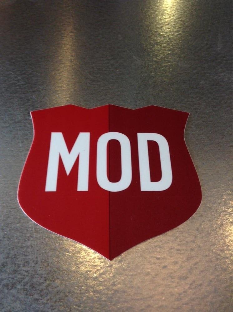 The MOD pizza logo. : mildlyinfuriating.