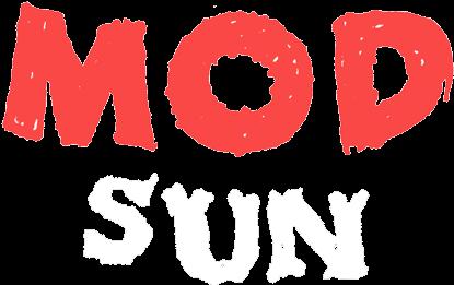 Mod Sun Tye Dye Hoodie.