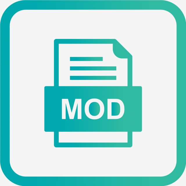 Mod File Document Icon, Mod, Document, File PNG and Vector.