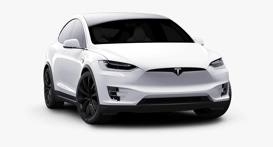 Tesla Model 3 White Front View.