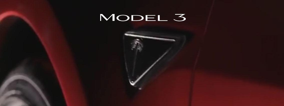 Tesla model 3 Logos.