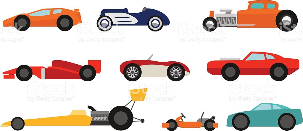 Drag Racing Clip Art, Vector Images & Illustrations.