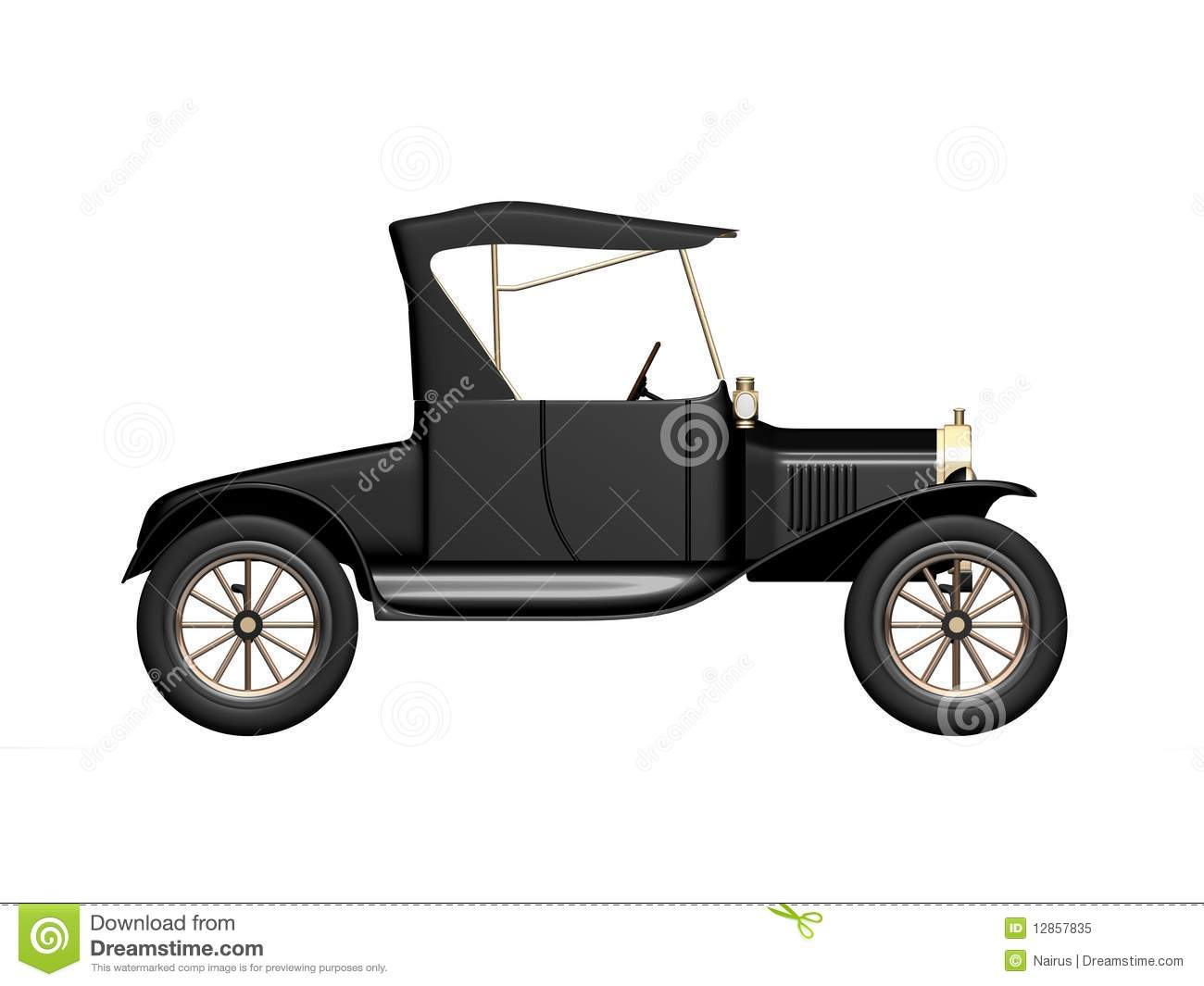 Model T Car Clipart.
