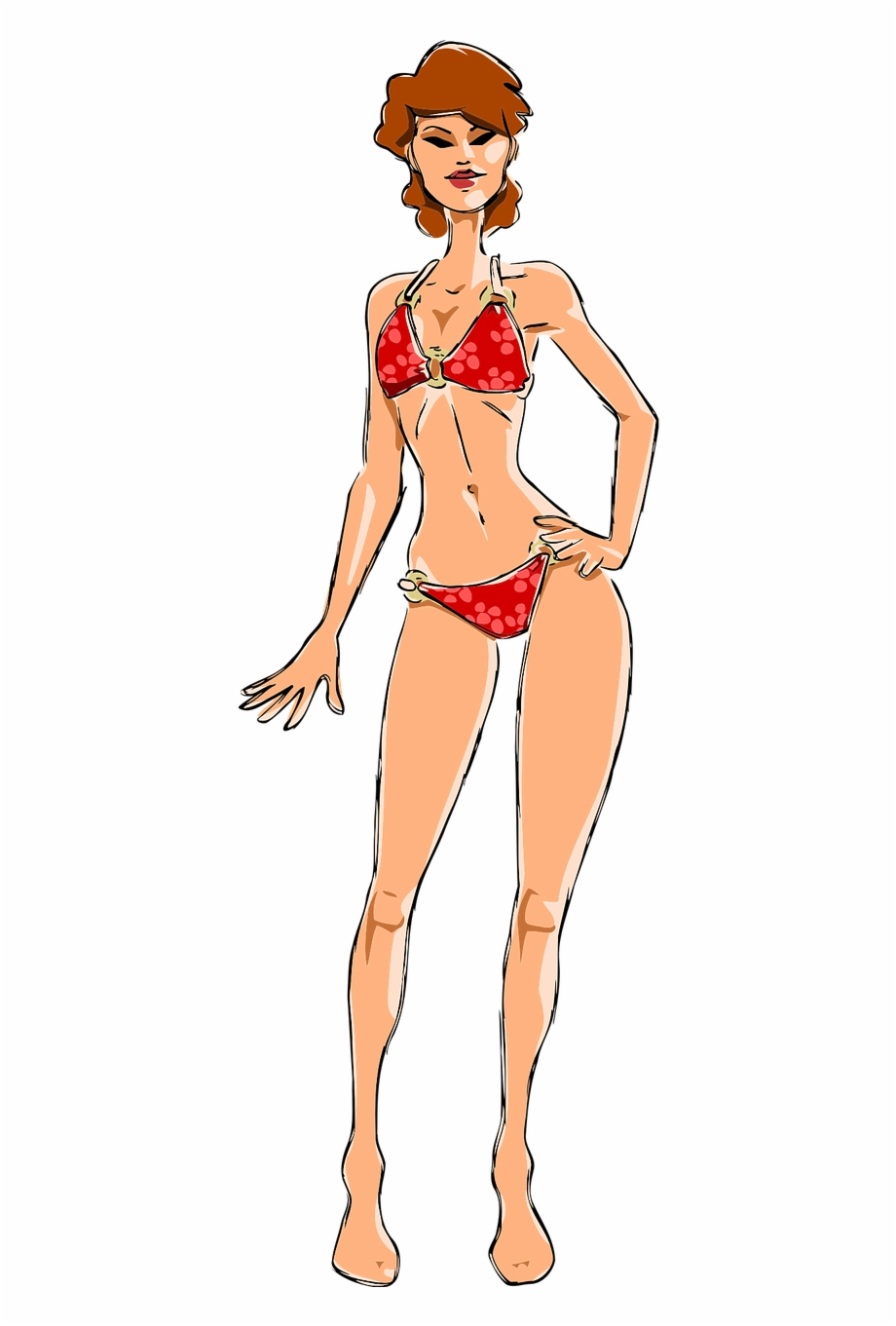 Bikini Female Girl Lady Model Png Image Woman.