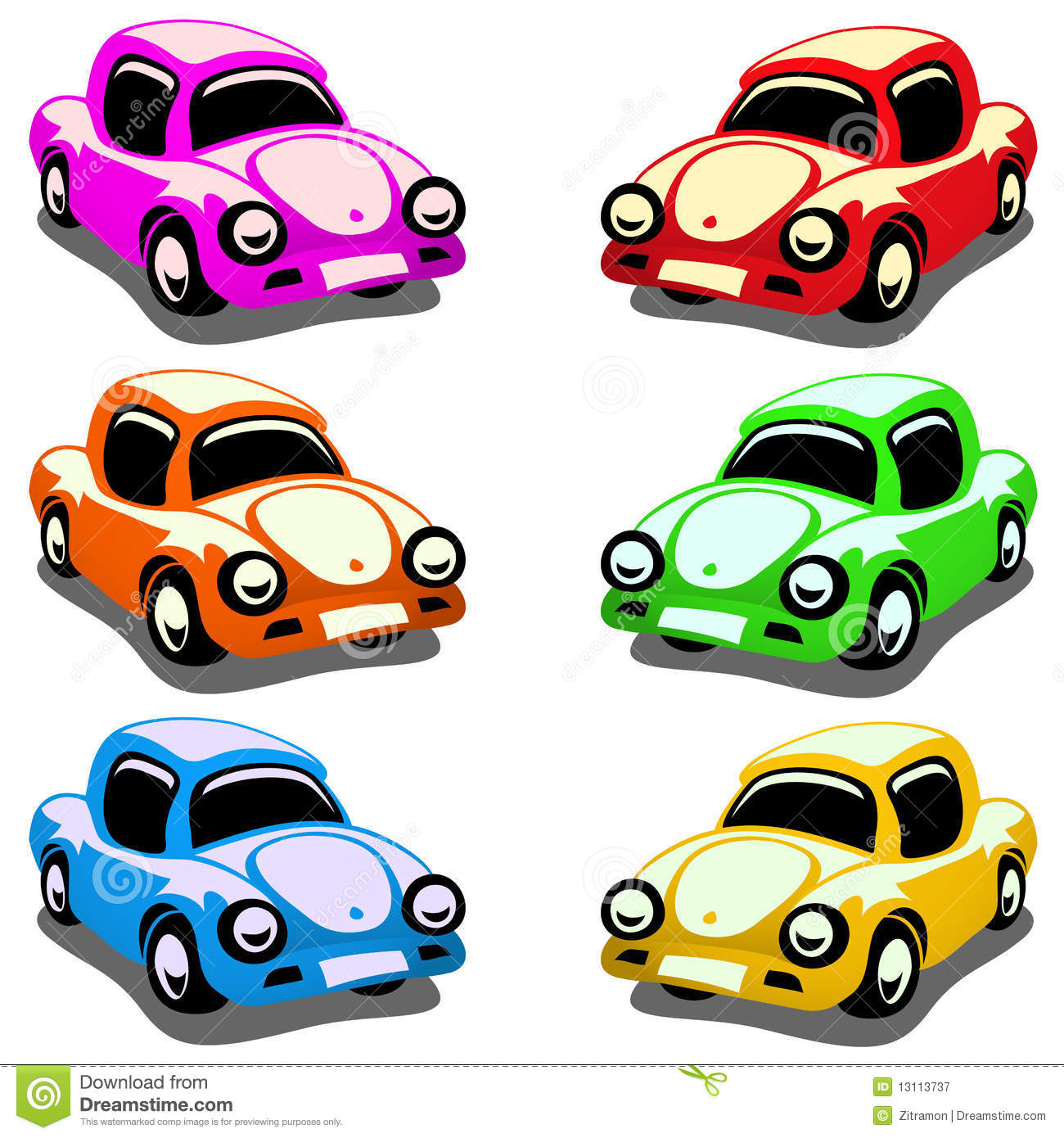 Toy Cars Royalty Free Stock Photography.