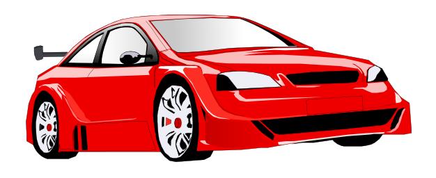 Model Car Clip Art.