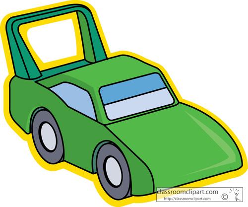 Toys : toy_racecar_1713b : Classroom Clipart.