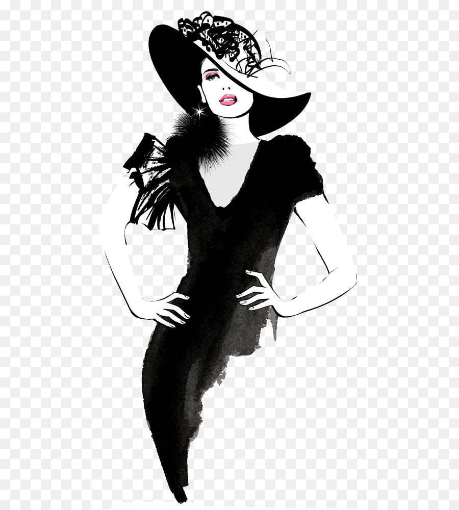 Fashion Model Clipart Png.