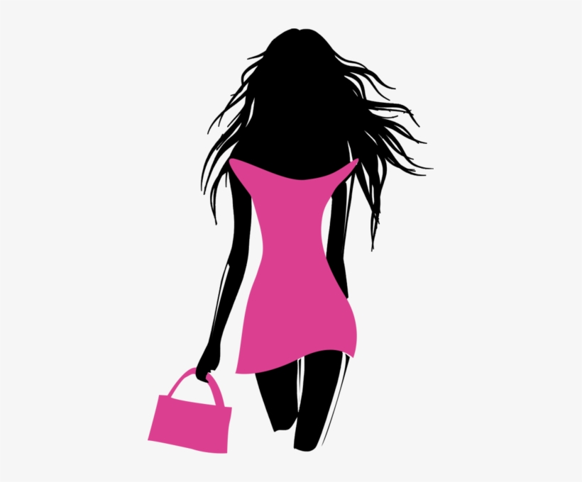 Fashion Model Clipart.