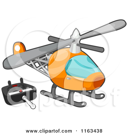 Rc helicopter clipart.