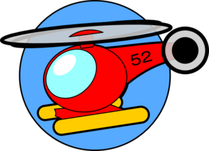 Helicopter Clip Art at Clker.com.