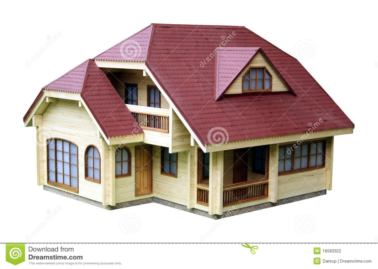 House Model Stock Photography.