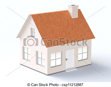 Generic house clipart.