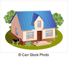 Clipart house models.