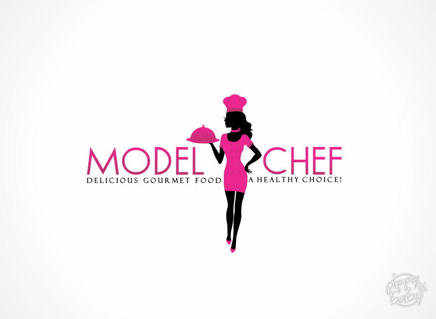 logo for Model Chef Healthy Burgers And More!.