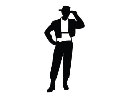Male Model Logo.