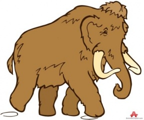 Woolly Mammoth Clipart.
