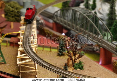 Model Train Stock Photos, Royalty.