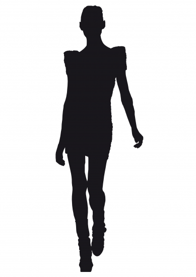 Fashion Model Silhouette Png Vector, Clipart, PSD.