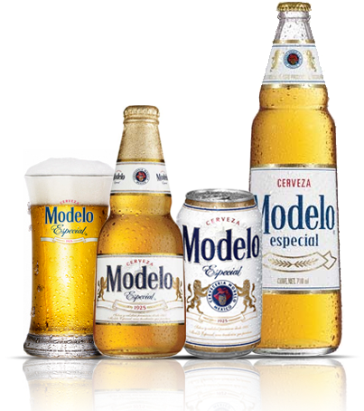 Download Transparent Beer Modelo Clipart Black And White.