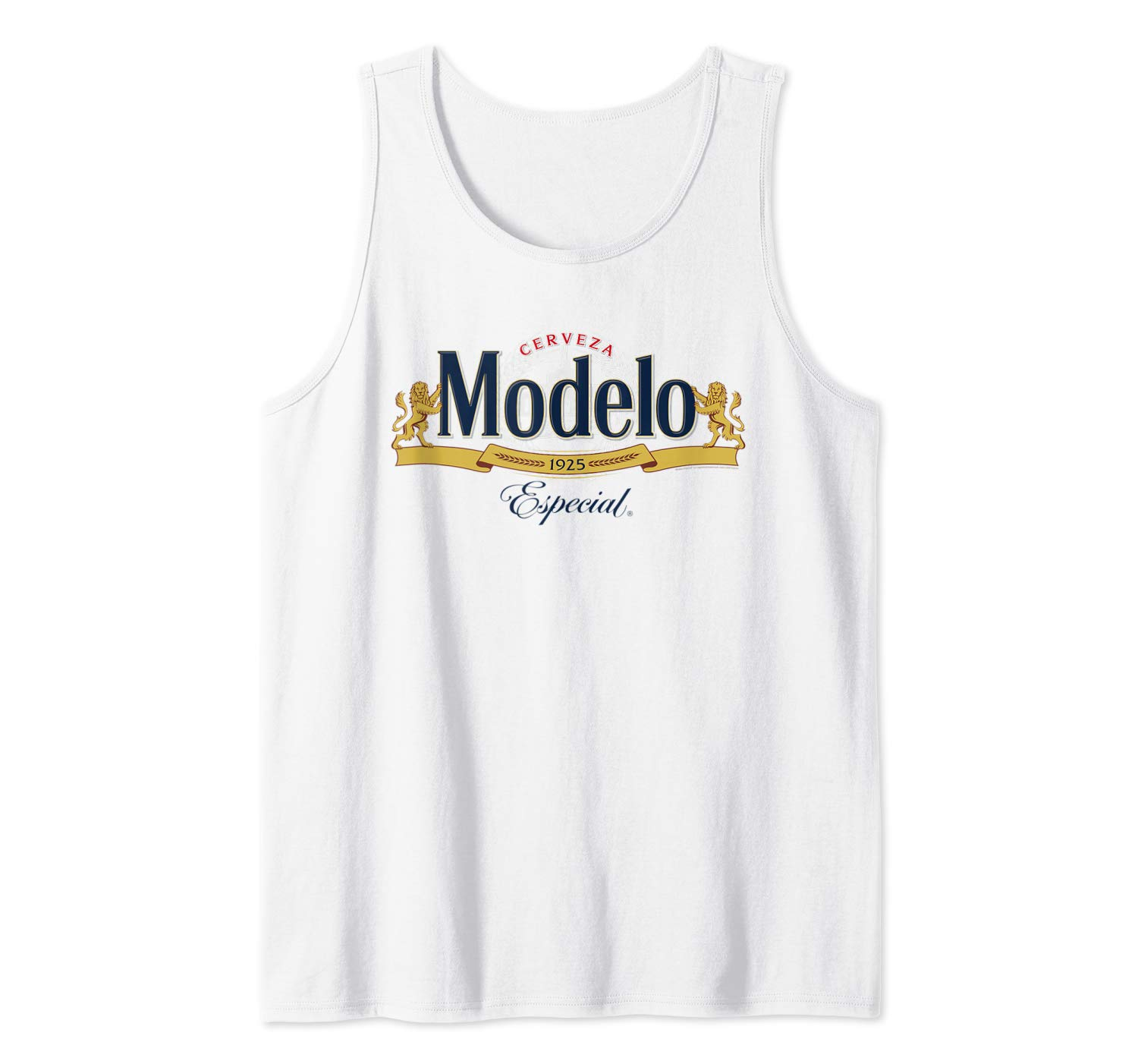 Amazon.com: Modelo Especial Logo Tank Top: Clothing.