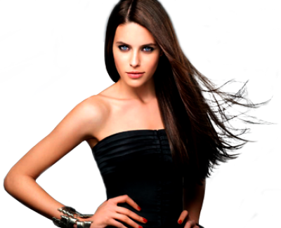 Download Free png cabello liso modelo.png.