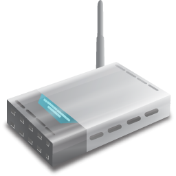 Windows Vista Modem Icon, PNG ClipArt Image.