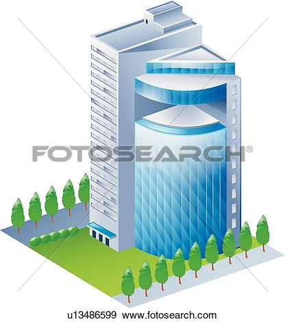 Clip Art of icons, Modern architecture, buildings, Building, icon.