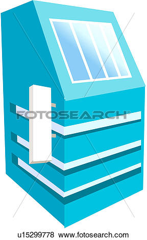 Clip Art of building, structure, modern architecture, logo.