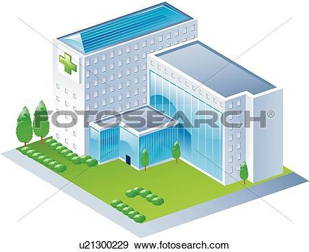 Clip Art of buildings, icons, Building, buildings, Building.
