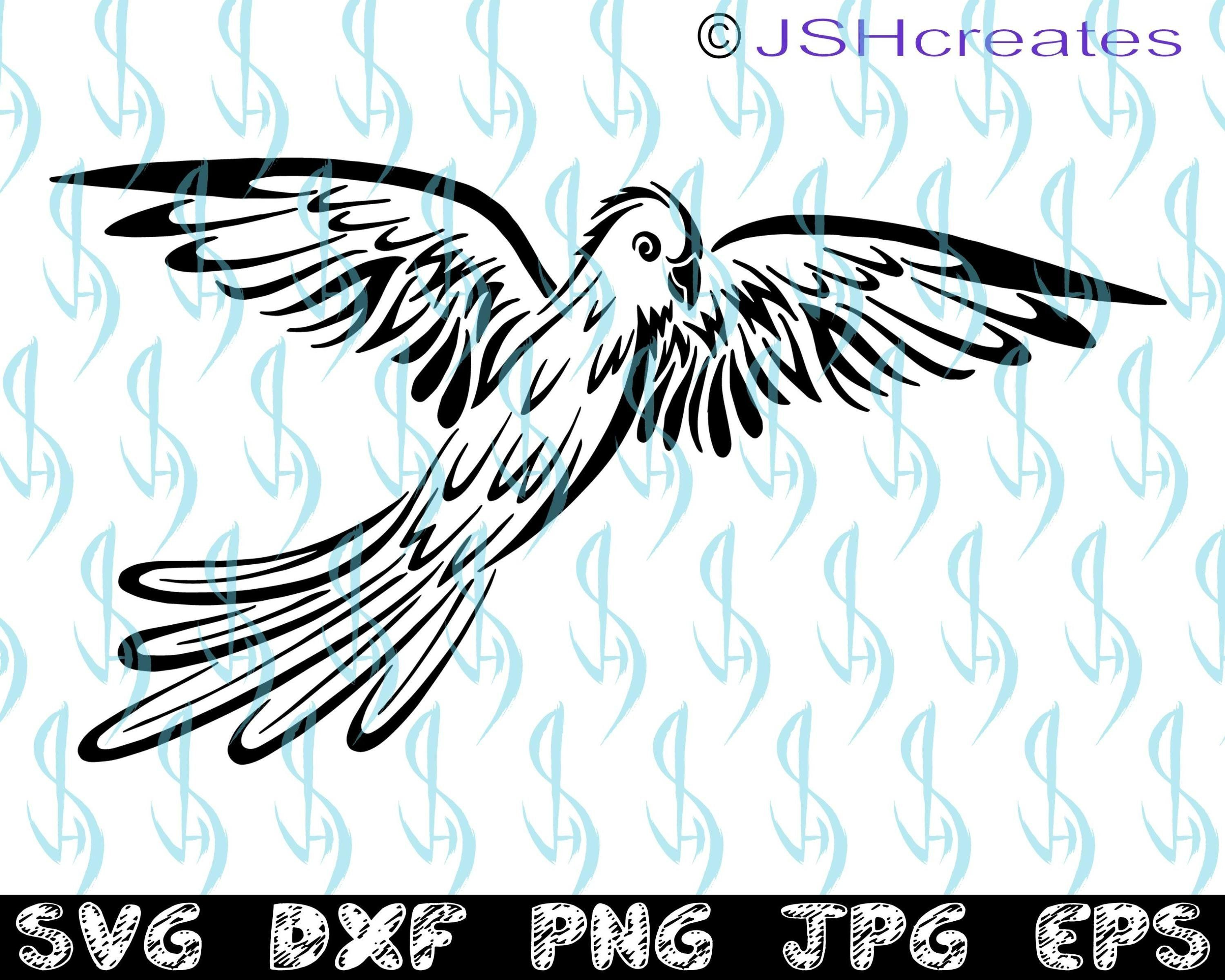 Parrot svg, Bird svg, Parrot, Bird, SVG, Wings, Bird Flying.