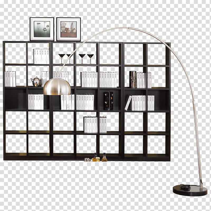 Shelf Bookcase Furniture Art Nouveau Light fixture, Modern.