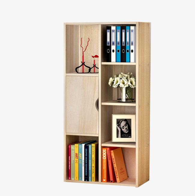 Bookshelf clipart modern, Bookshelf modern Transparent FREE.