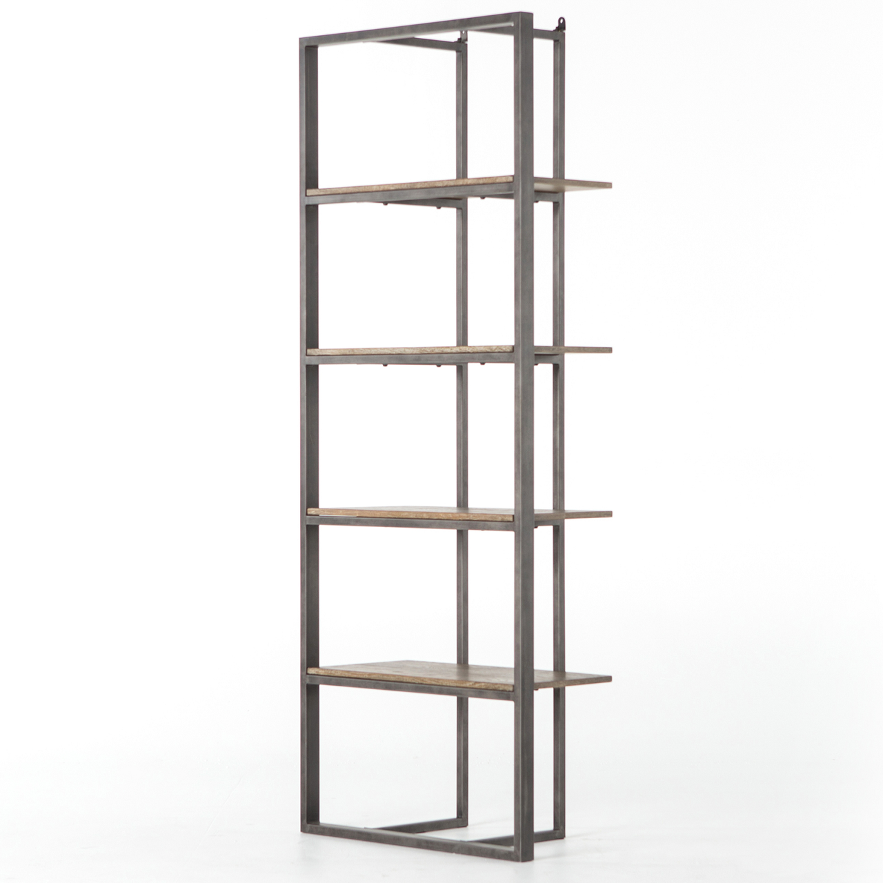 Grainger Modern Industrial Open Bookshelf.