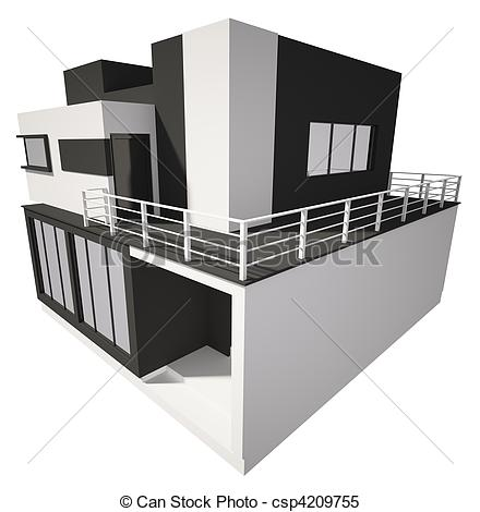 The modern building clipart - Clipground