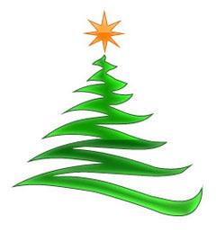 Modern Christmas Tree. Free Free Modern Christmas Tree Clipart.