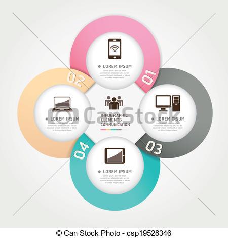 EPS Vector of Modern communication technology..