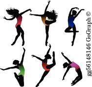 Modern Dance Clip Art.