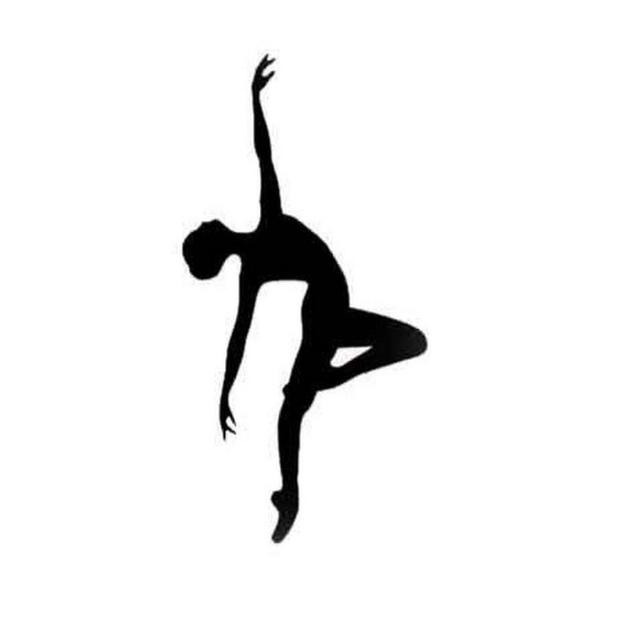 Contemporary Dancer Clipart.
