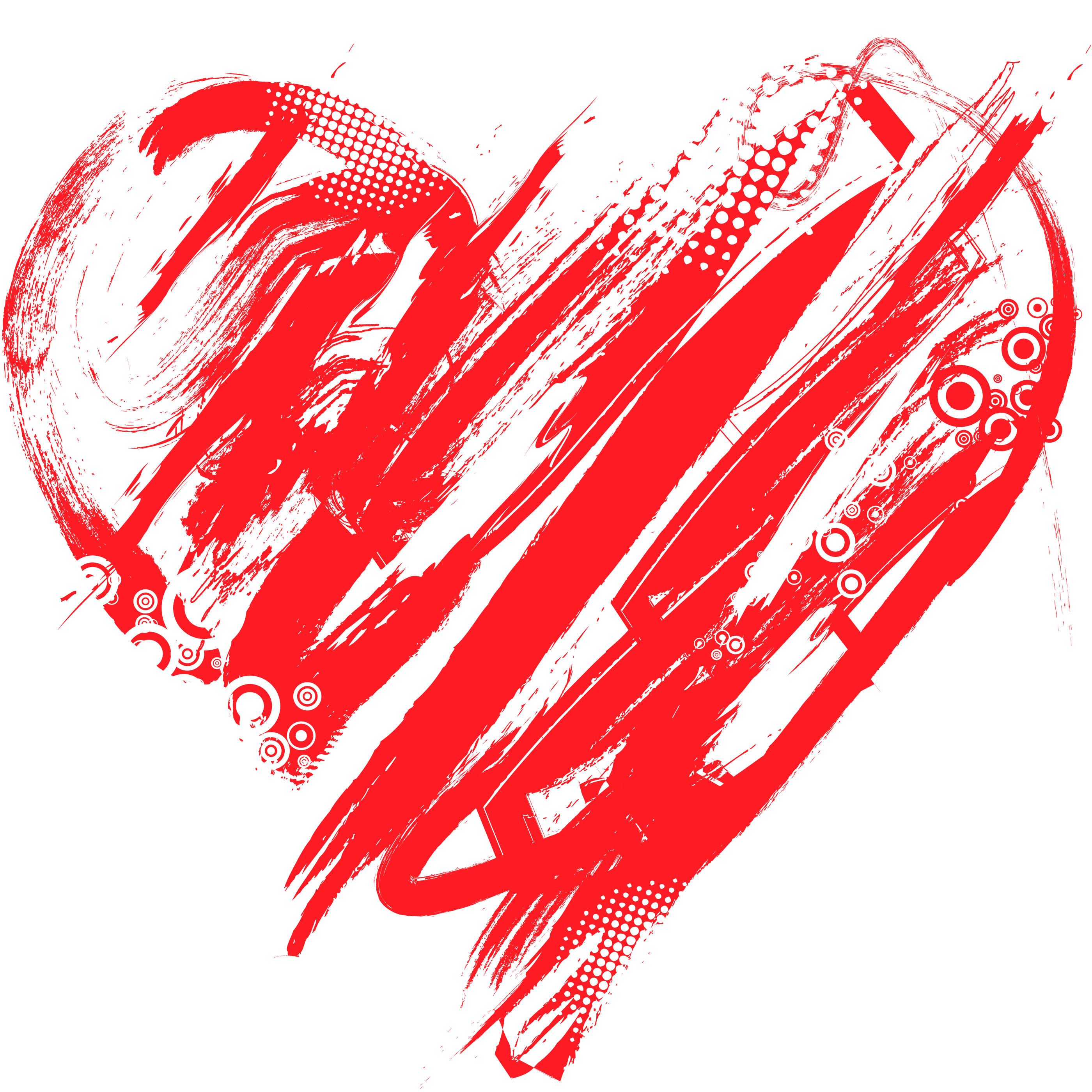 Modern Day Valentines Day Clipart.