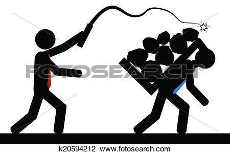 Slavery Clipart and Illustration. 690 slavery clip art vector EPS.