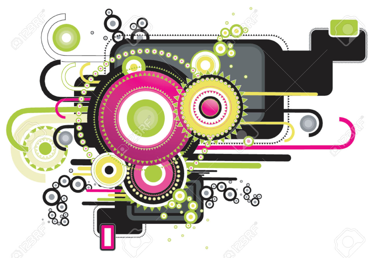 Modern Clipart Designs.