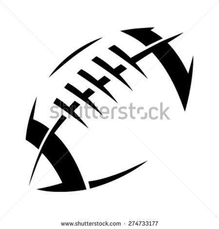 Modern Football Clipart.