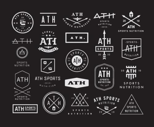 Contemporary Logo Design Several modern logo.