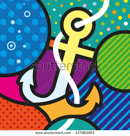 Love Typo Modern Pop Art Artwork Stock Vector 270791624.