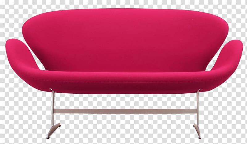Red sofa illustartion, Furniture Icon Computer file, Modern.